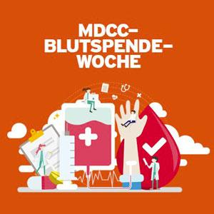MDCC-Blutspendewoche - Machen Sie mit!