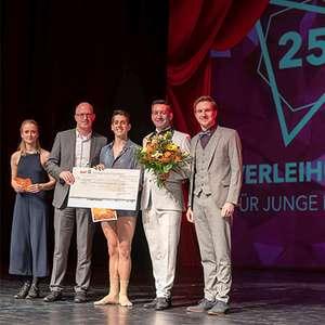 Verleihung Förderpreis für junge Künstler