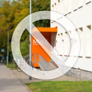 Kundencenter und MDCC-Kantine vorübergehend geschlossen