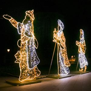 Krippenfiguren für Magdeburgs Lichterwelt