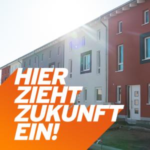 Stadthäuser am Wissenschaftshafen
