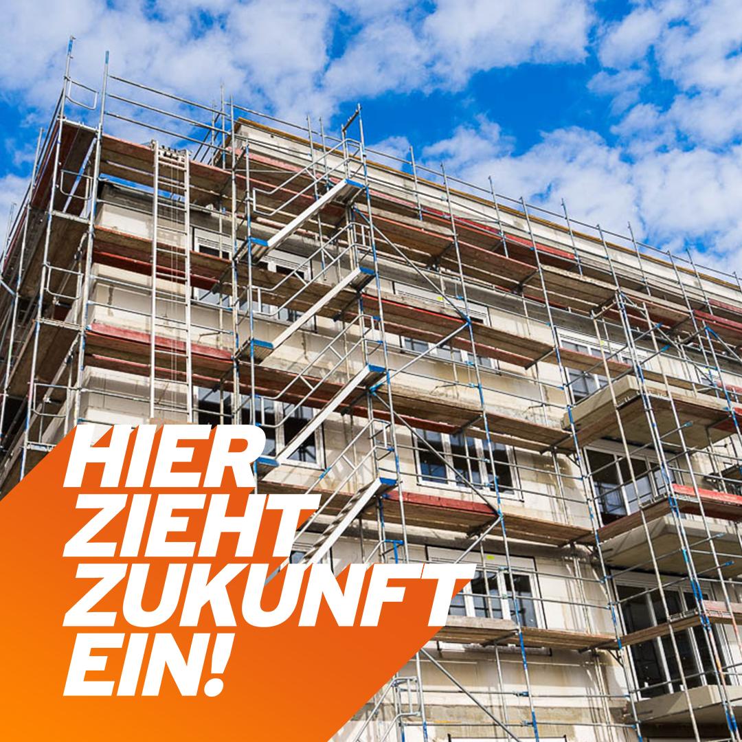 Neue Wohn- und Gewerbeeinheiten Rogätzer Str.